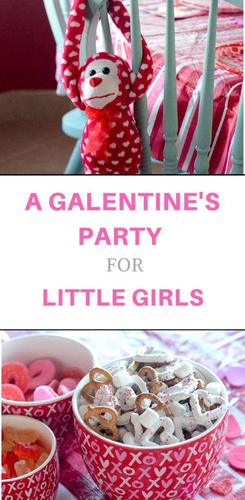 Host a Galentine's Party for Little Girls + XOXO Munch