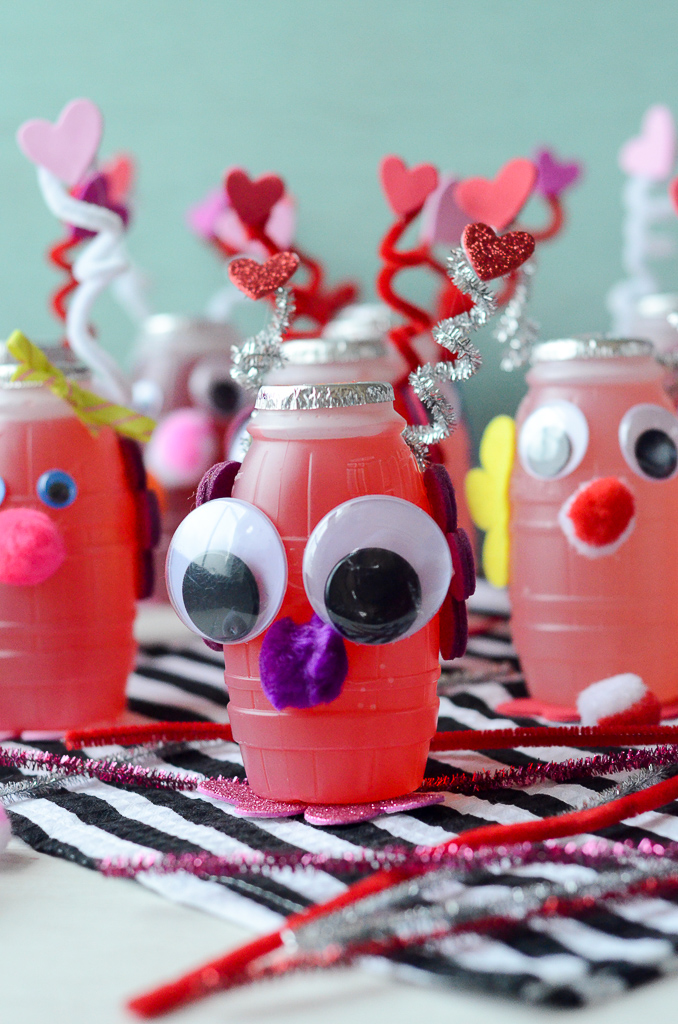 Love Bug Juice Boxes Valentines Party Idea For Kids