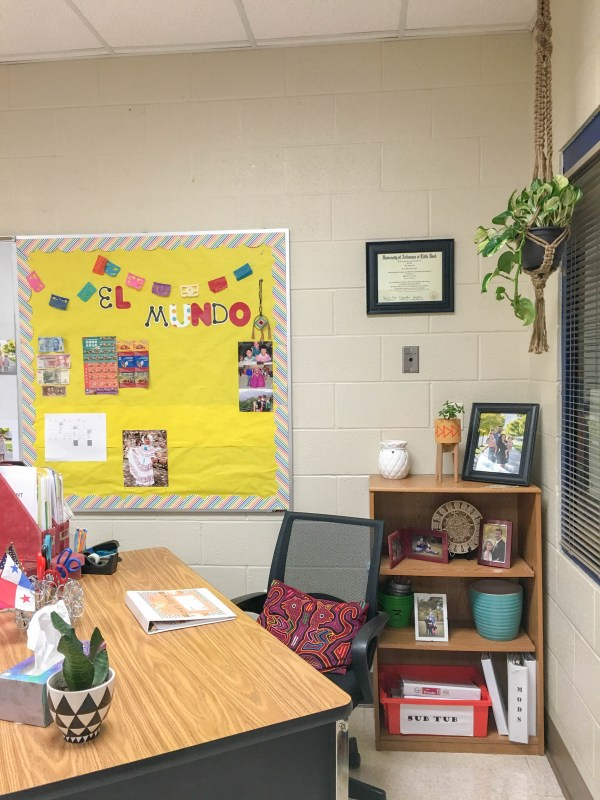 Decorative Hat Wall - Spanish Classroom Decor - Middle School ...