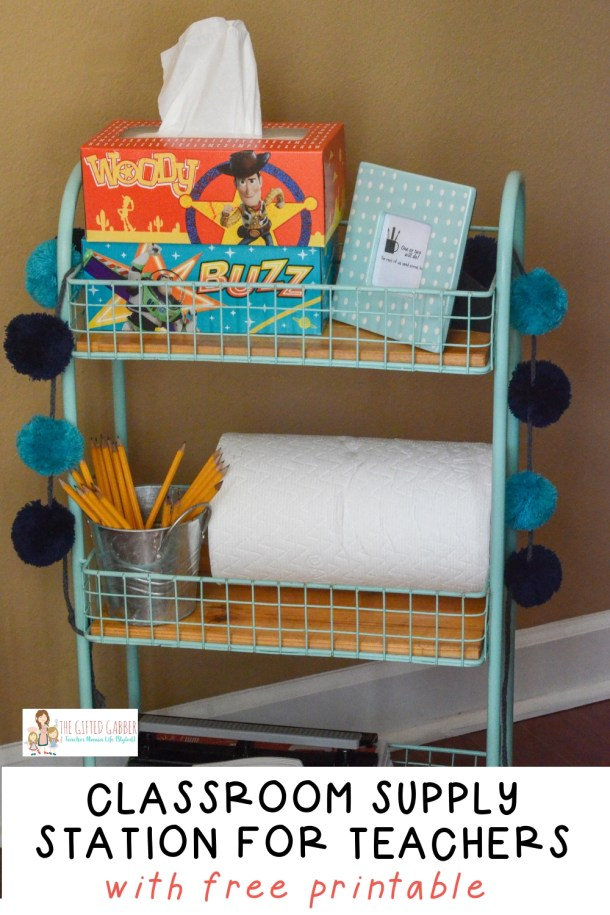 Welcome Back to School Teacher Gift Baskets & Classroom