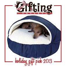 snoozer_cozy_dog_cave_TGE_holidaygiftguide2013