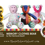 Giveaway: The Patchwork Bear Memory Clothes Bear… Get a Jump Start on Your Holiday Gifting!