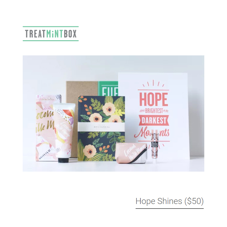 treatmintbox_hope_shines_breast_cancer_get_well_gifts