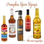 Time to Stock Up! Pumpkin Spice Syrups including Sugar Free…