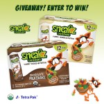 Giveaway! Enter to WIN a 12 Pack of Sneakz Organic Milkshakes!