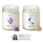 Increase Your Luck, Love and Healing with Hidden Crystal Candles by Kelly Decker
