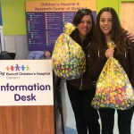 "Giving Back this Easter with #GiftShareGive… Two ""My First Easter"" Gift Bags Donated to UCSF Benioff Children's Hospital in Oakland, CA…"