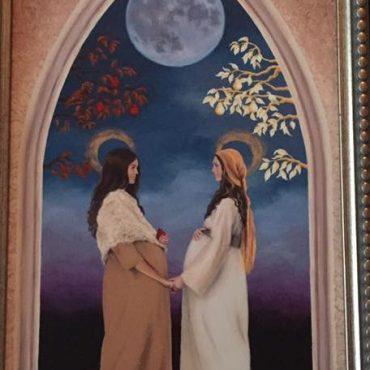 Eve and Mary, their sacrifices and their fruit.