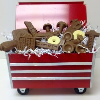 Replica Tool Box With Chocolate Tools