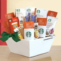 Delicious High Energy Starbucks Gift Baskets Jump Start Your Day