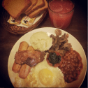 All Day American Breakfast @ Hole in The Wall Cafe, Koramangla, Bangalore