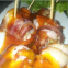 Cheese stuffed bacon in barbecue sauce @ Doff Pub, Bangalore