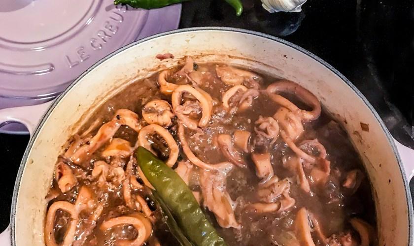 Squid Adobo Recipe – Iloilo Style