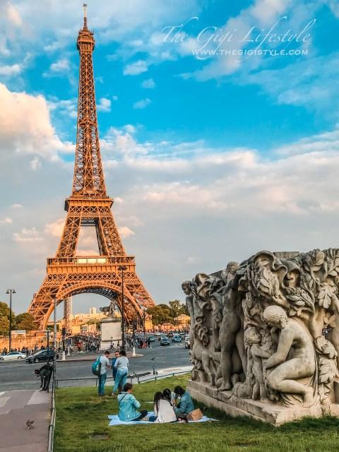 Heading towards the Eiffel Tower