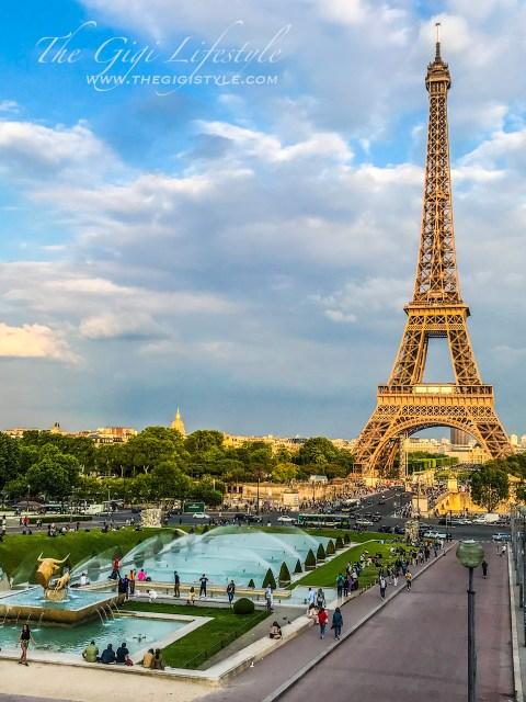 The Jardin du Trocadero