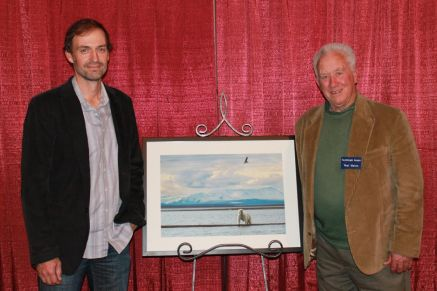 Daniel Dietrich and Neal Maine Arctic Light presentation in the Gilbert District