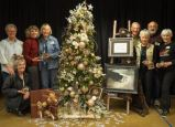 Art Walk hostesses sponsored a Gilbert District tree in the Providence Festival of the Trees