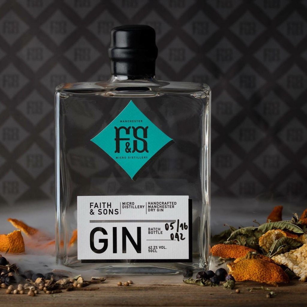 Faith & Sons – Organic gin distilled in Manchester