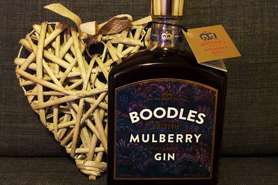 Boodles Mulberry Gin – A proper British Mulberry Gin