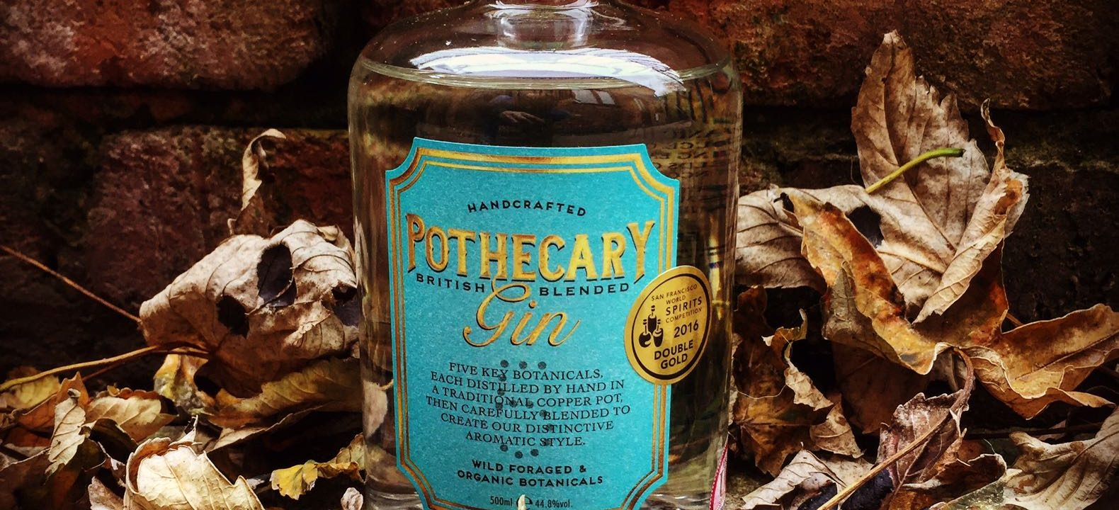 Pothecary Gin by Soapbox spirits