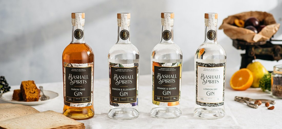 Bashall Spirits - full range