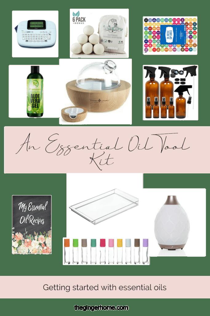 Essential Oil tool kit