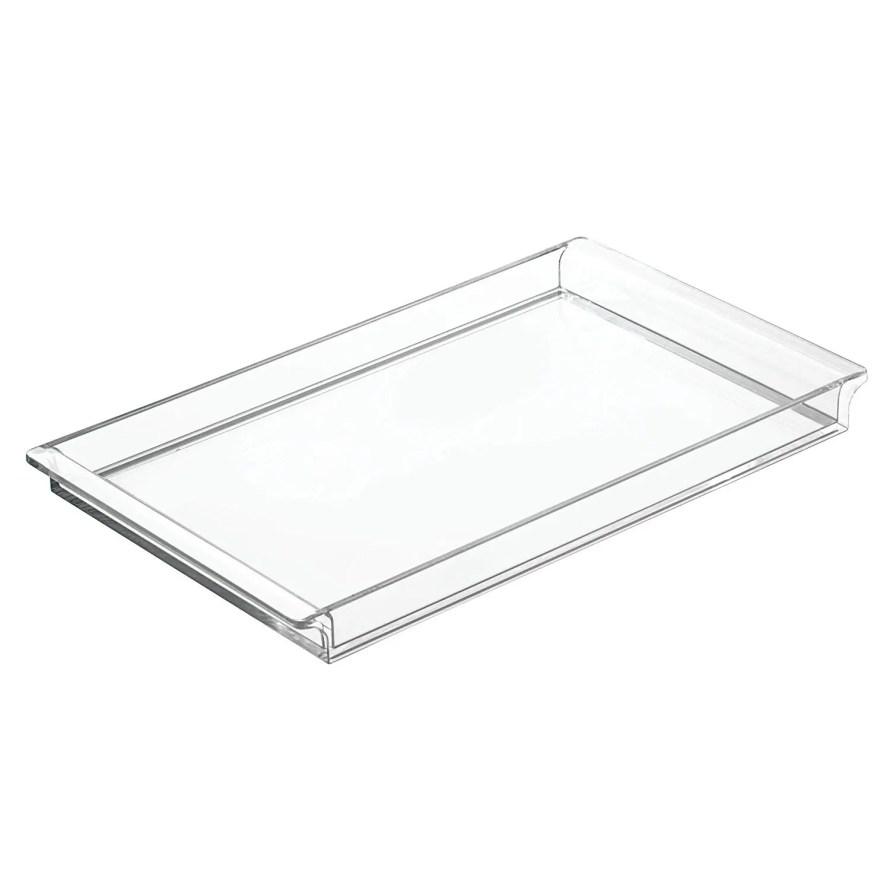 large plastic tray