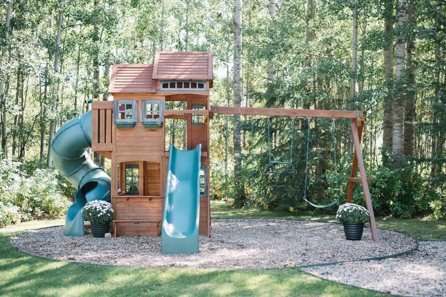 Playset at The Ginger Home