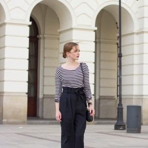OUTFIT:  Kleiner Parismoment in Warschau.