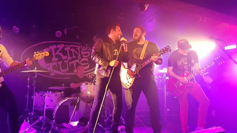 GUN – Live – King Tuts Wah Wah Hut – 28th November 2017