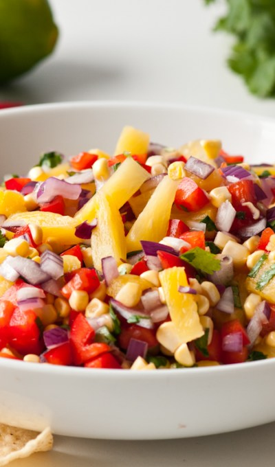 Pineapple and Red Pepper Salsa