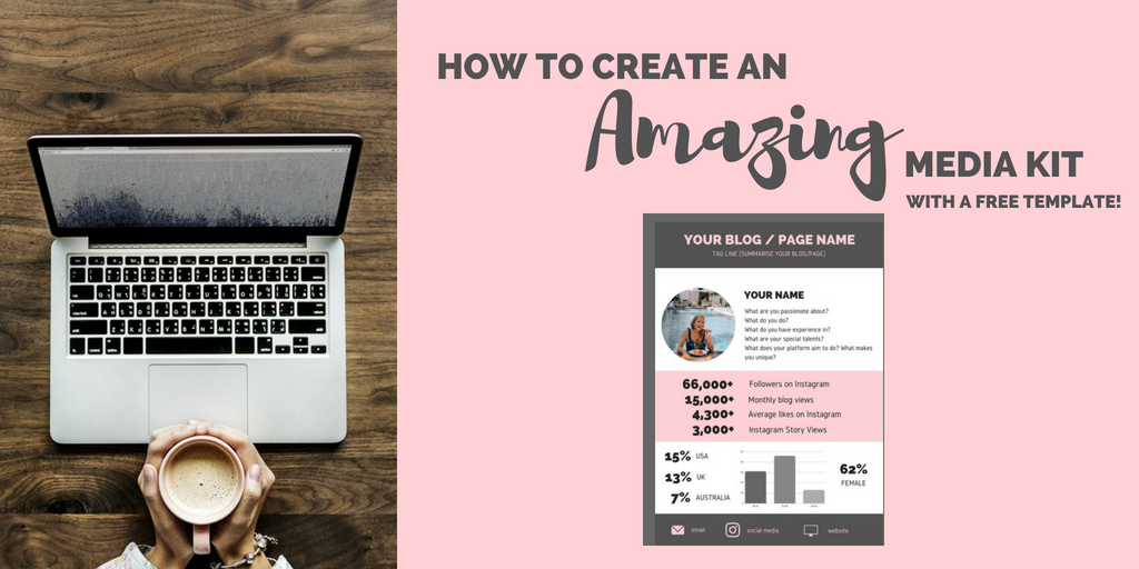 How to Create a Media Kit (with free template) - The Ginger Wanderlust
