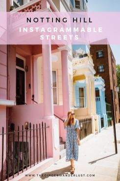 Whether you are planning a trip to London or you are a local Londoner, Notting Hill with it's cute pastel-coloured houses and vintage shops is a great place to spend the day. In this post I will outline my day itinerary for walking around Notting Hill covering all of the most instagrammable streets and colourful houses, and including a useful map pinning the top things to see.