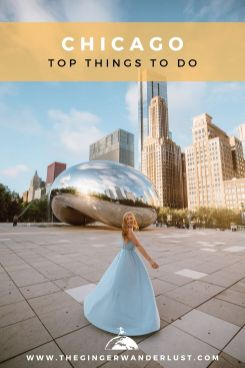 Chicago, a bustling city full of culture, beautiful architecture and tasty deep pan pizza! Located on the shores of lake Michigan, Chicago is the third most populous city in the USA. If you are planning a trip to the windy city then keep reading to find out the top things to do in Chicago