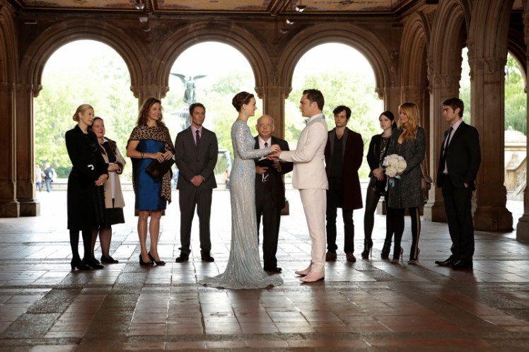 Gossip Girl NYC Bethesda Terrace Chuck and Blair Married