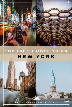 It's no secret, New York City is not cheap and it can be daunting to plan a trip to NYC on a budget, but it is not out of the question. Luckily there are a lot of free things to do in New York, as well as lots of cheap places to eat to keep costs low. In this article I will share tips on cheap places to stay and eat if you're on a budget as well as the top 12 things to do for free in NYC.