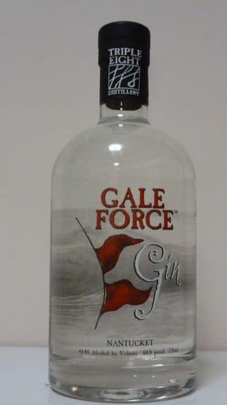 Gale Force Gin Bottle