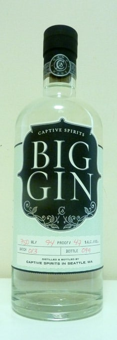 Big Gin Bottle