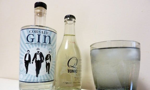 Corsair Gin with Q Tonic