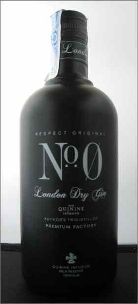 Nº Zero London Dry Gin