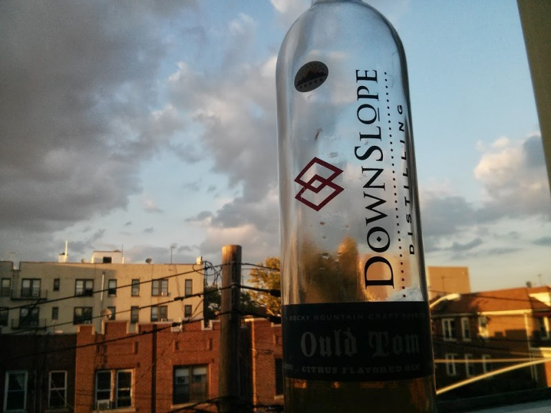 downslope ould tom bottle