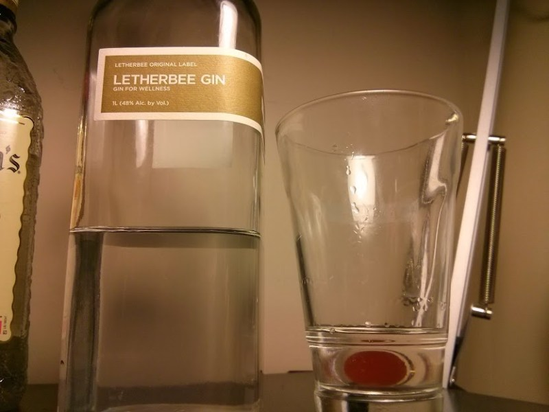 Undiluted Letherbee Gin