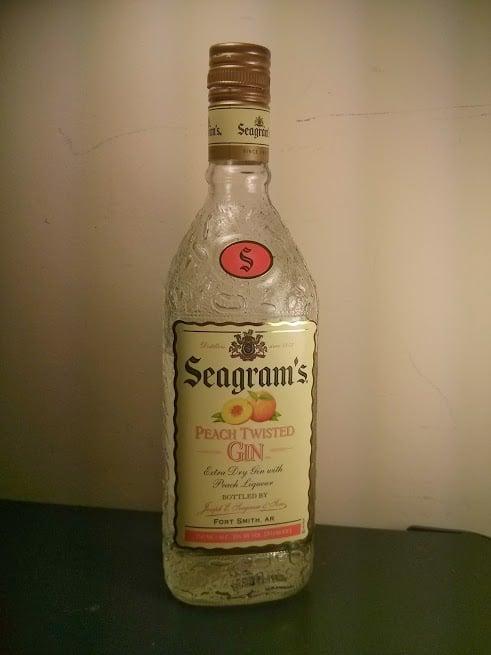 Seagram's Peach Twisted Gin