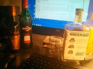 ginavit martini in the lab