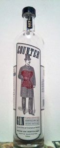 counter-gin-bottle