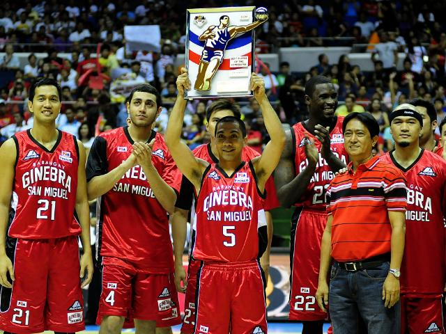Perhaps the best thing beating the name Ginebra San Miguel?