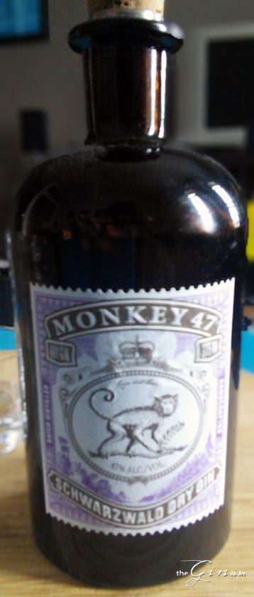 monkey 47 schwarzwald dry gin review and rating the gin. Black Bedroom Furniture Sets. Home Design Ideas
