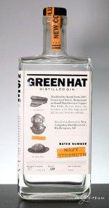 Green Hat Navy Strength