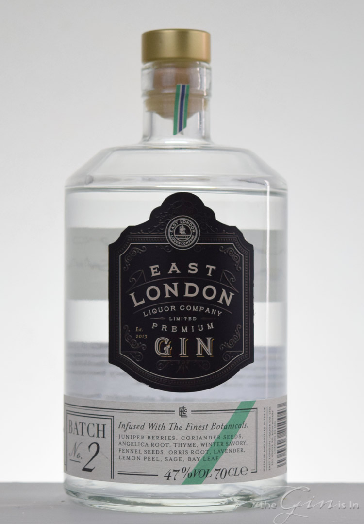 East London Liquor Company Gin