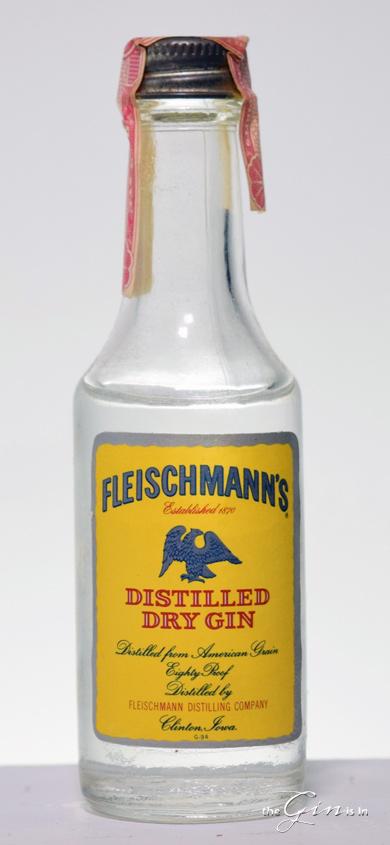 Fleischmann's Distilled Dry Gin